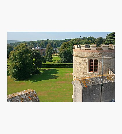 Tower View, Lulworth Castle Photographic Print