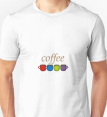 Coffee Jewel Tone Unisex T-Shirt