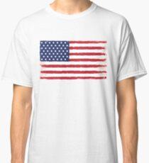 American flag Grunge Classic Classic T-Shirt