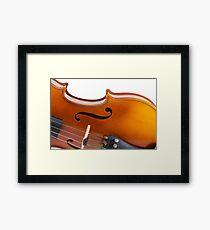 Violin Framed Print