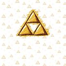 Sketchy Triforce on White by Sarinilli