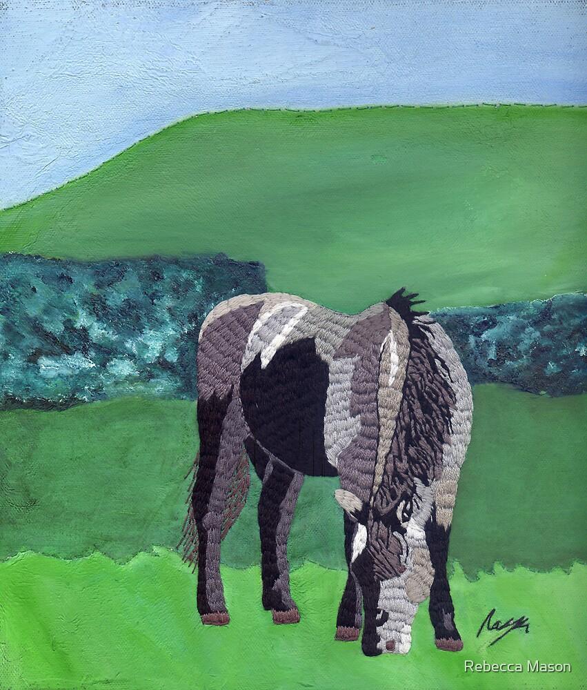 Horse At Hendra II by Rebecca Mason