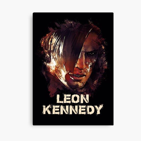 Leon S. Kennedy - RESIDENT BÖSE Leinwanddruck