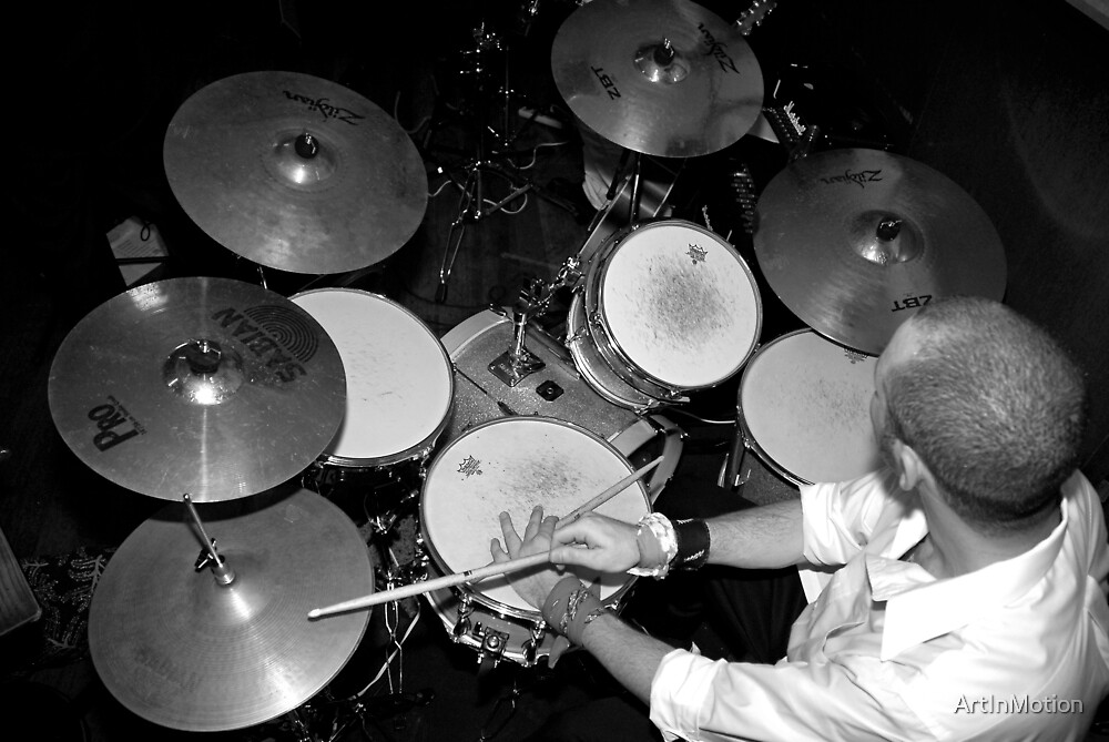Drummer by ArtInMotion