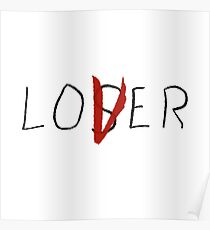 Loser/Lover Eddie Kaspbrak Cast - IT Movie 2017 Poster