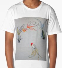 Goldfish Pond (close up #8) Long T-Shirt