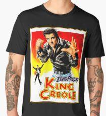 ELVIS : Vintage King Creole Movie Advertising Print Men's Premium T-Shirt