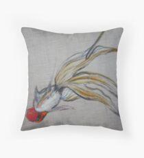 Goldfish Pond (close up #5) Throw Pillow