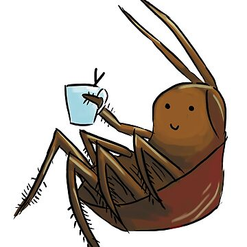 Cockroach and Coffee by mugs-and-cakes