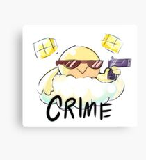 CRIME Canvas Print