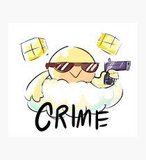 CRIME Photographic Print