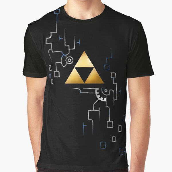 Twilight Triangles Graphic T-Shirt