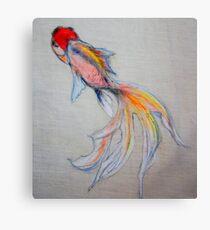 Goldfish Pond (close up #3) Canvas Print