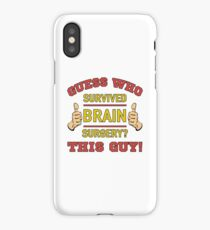 Funny Brain Surgery iPhone Case/Skin