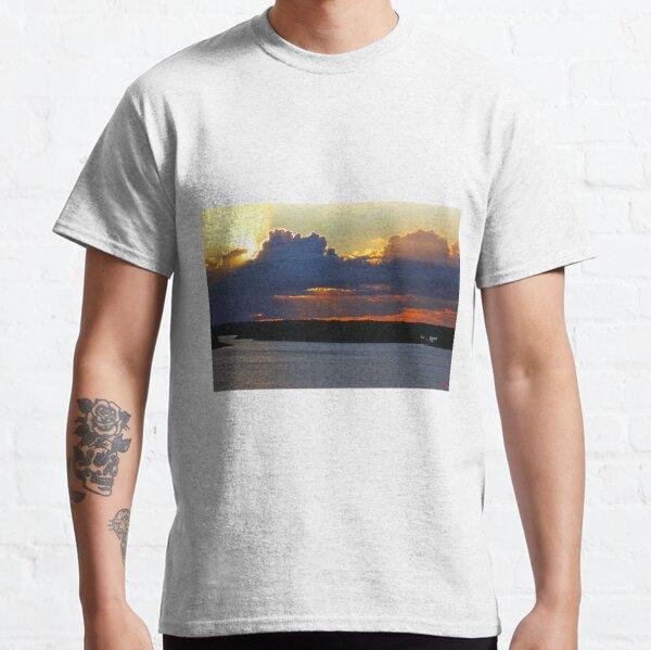 Sunstreaks over Gatufjärden Classic T-Shirt