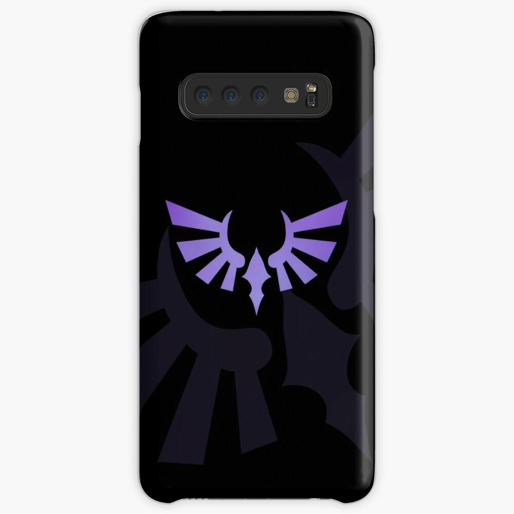 Hylia Crest - Purple on Black Case & Skin for Samsung Galaxy