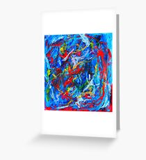 Winter In Russia Greeting Card