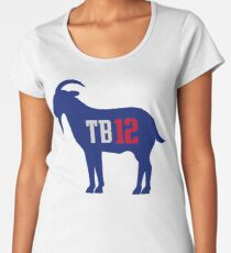 TB 12 The Goat Women's Premium T-Shirt