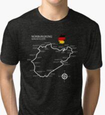 The Nurburgring - Nordschleife Tri-blend T-Shirt