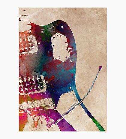 guitar art 3 #guitar #music Photographic Print