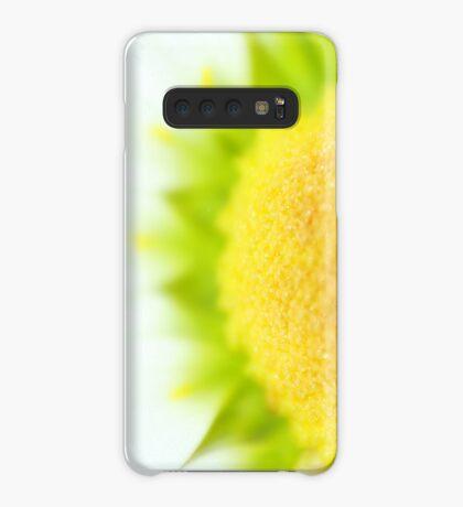 Green Solar Flares Case/Skin for Samsung Galaxy