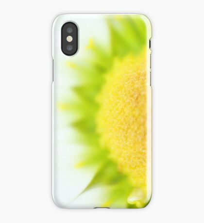 Green Solar Flares iPhone Case