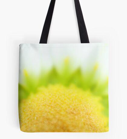 Green Solar Flares Tote Bag
