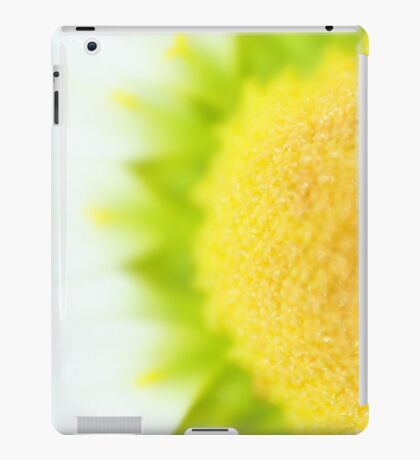 Green Solar Flares iPad Case/Skin