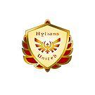 Hylians United Shield on White by Sarinilli
