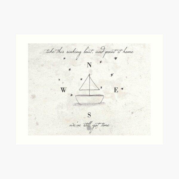 Take This Sinking Boat Art Print