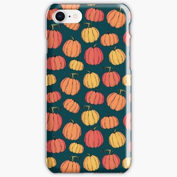 Rustic fall pumpkin pattern iPhone Snap Case
