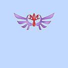 Winged Sheikah by Sarinilli