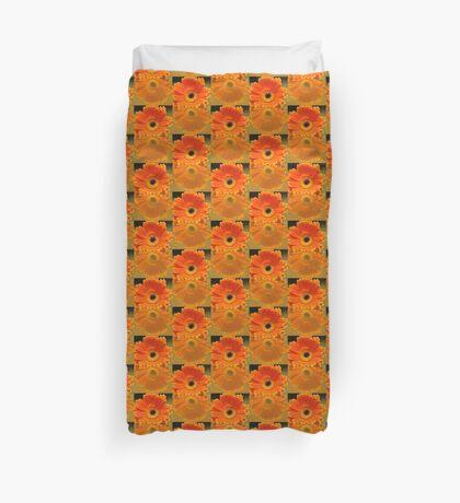 Double Orange Duvet Cover