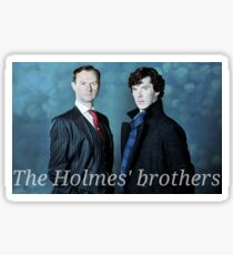 The Holmes brothers Sticker