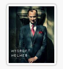 Mycroft Holmes geometric  Sticker