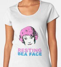 Resting Bea Face Women's Premium T-Shirt