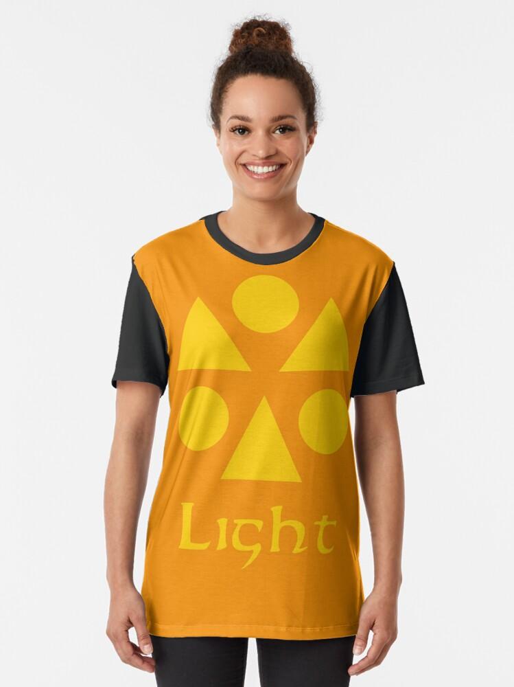 Alternate view of Sage Medallion - Light Graphic T-Shirt