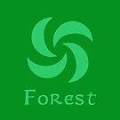 Sage Medallion - Forest by Sarinilli