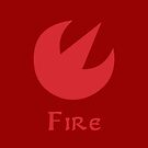 Sage Medallion - Fire by Sarinilli