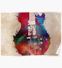 guitar art 6 #guitar #music Poster