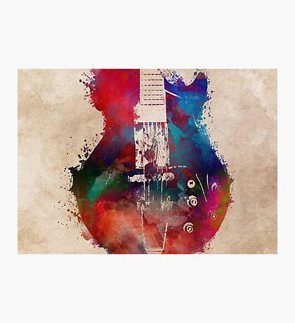 guitar art 6 #guitar #music Photographic Print