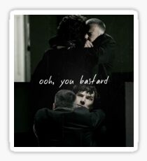 Lestrade Sherlock reunion Sticker