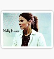 Molly Hooper geometric Sticker