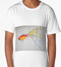Goldfish Pond (close up #1) Long T-Shirt