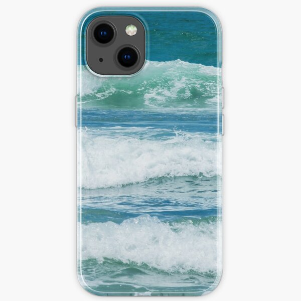 California Rolling Waves iPhone Soft Case