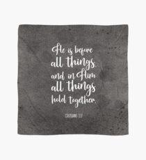 Bibelvers - Er steht vor allen Dingen Tuch