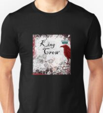 King Crow T-shirt for Corvid Bird Lovers T-Shirt