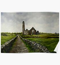 """Scattery Island Ruins - County Clare, Ireland"" Poster"