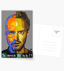 Breaking Bad Science Bitch!!! Postcards