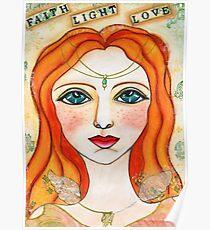 Faith, Light, Love Poster